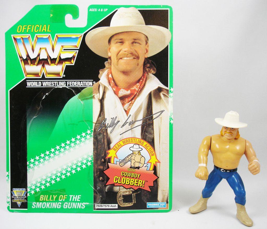 WWF Hasbro - Billy Gunn of the Smoking Gunns(loose avec carte USA)