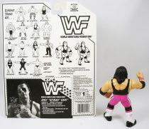 WWF Hasbro - Bret Hitman Hart v.1 (loose avec carte USA)