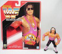 WWF Hasbro - Bret Hitman Hart v.2 (loose with USA cardback)