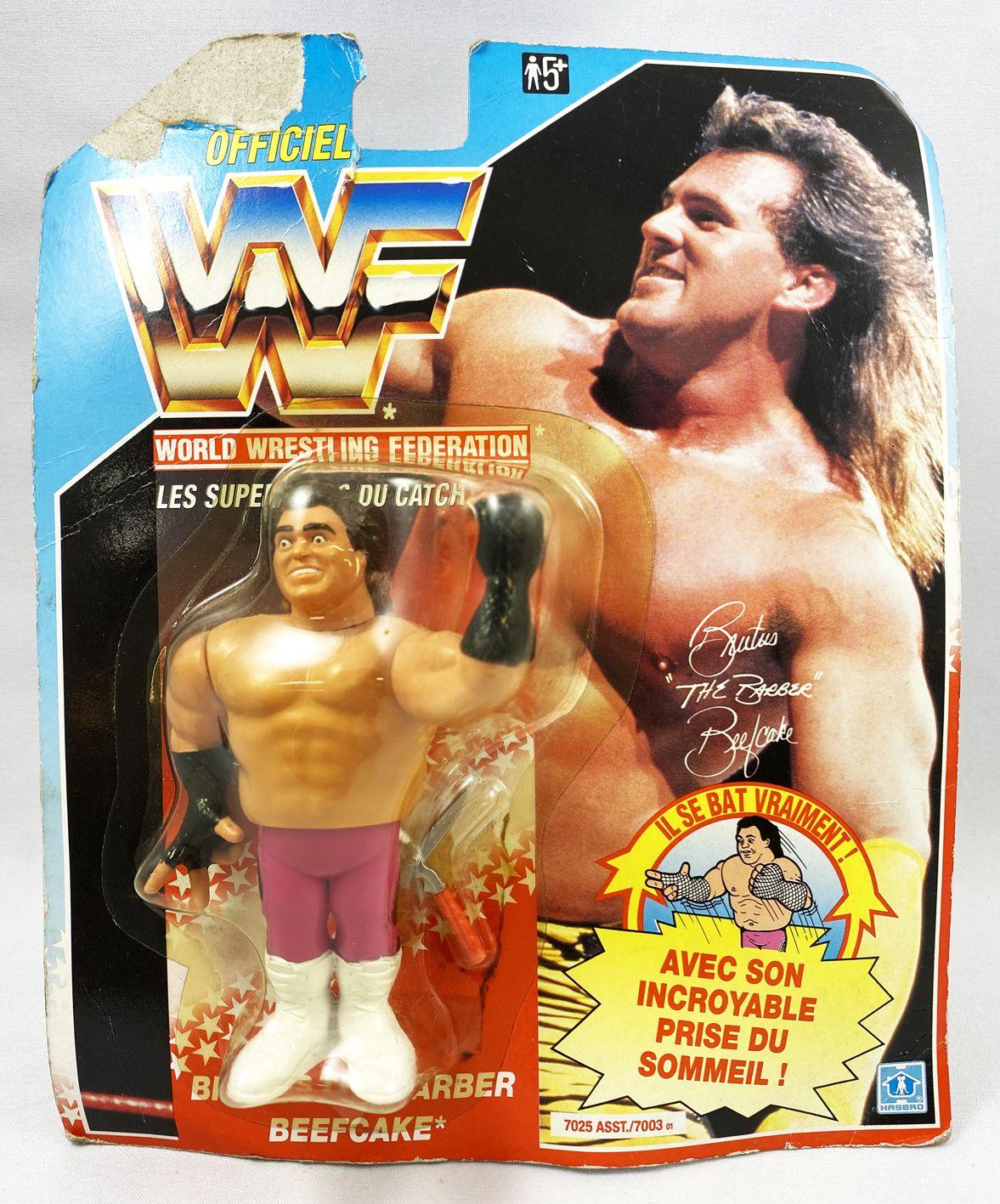 WWF Hasbro - Brutus The Barber Beefcake v.1 (carte Espagne)