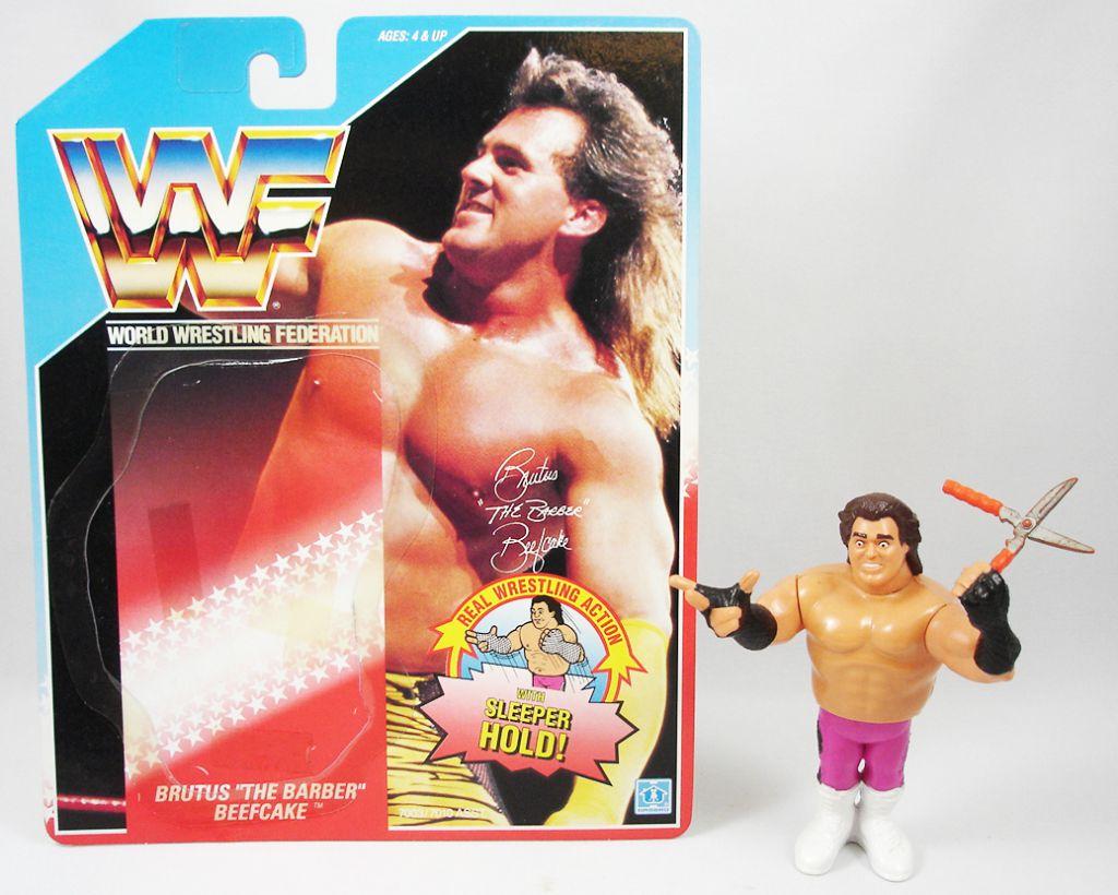 WWF Hasbro - Brutus The Barber Beefcake v.1 (loose avec carte USA)
