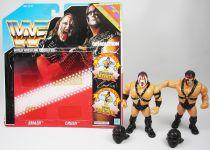 WWF Hasbro - Demolition Smash & Crush (loose with USA cardback)