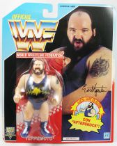 WWF Hasbro - Earthquake (Spain card)