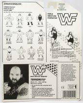 WWF Hasbro - Earthquake (Spain card)