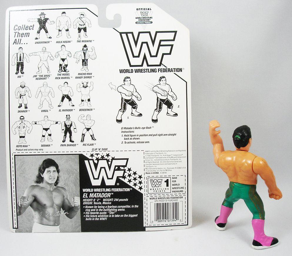 WWF Hasbro - El Matador Tito Sanrtana (loose avec carte USA)