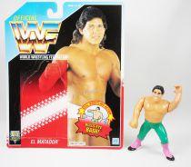 WWF Hasbro - El Matador Tito Santana (loose with USA cardback)