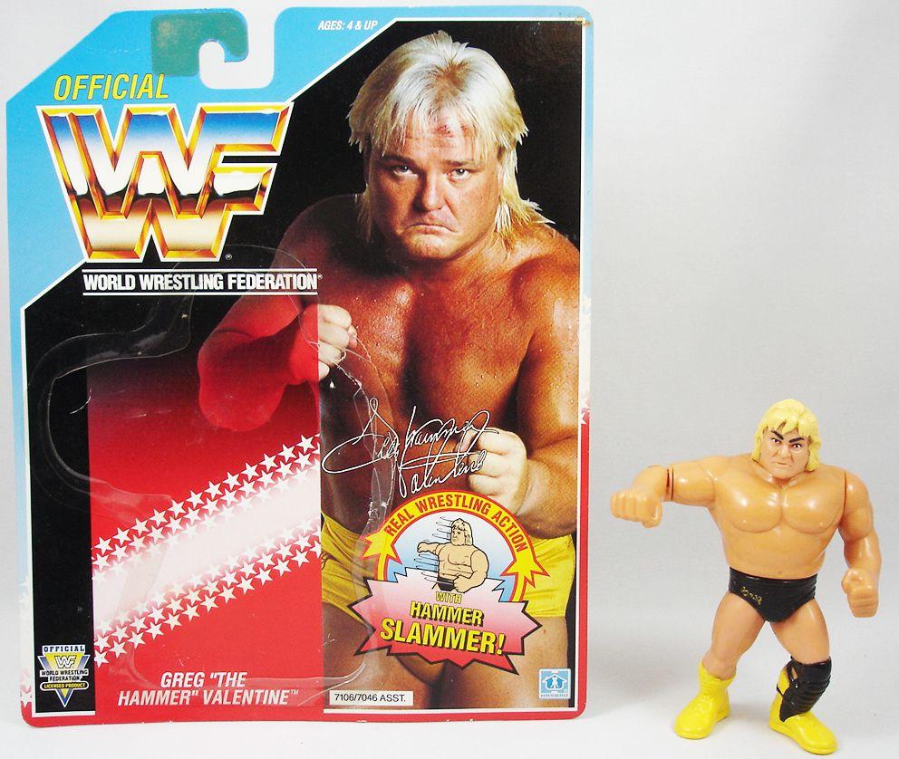 WWF Hasbro - Grteg The Hammer Valentine (loose with USA cardback)