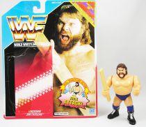 WWF Hasbro - Hacksaw Jim Duggan v.1 (loose avec carte USA)