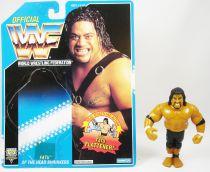 WWF Hasbro - Headshrinkers Fatu (loose avec carte USA)