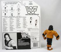 WWF Hasbro - Headshrinkers Fatu (loose with USA cardback)
