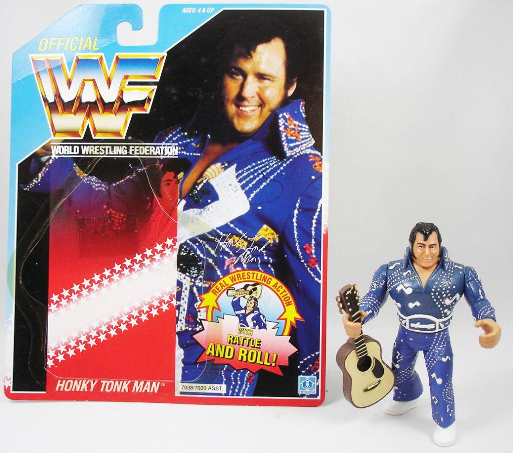 WWF Hasbro - Honky Tonk Man (loose with USA cardback)