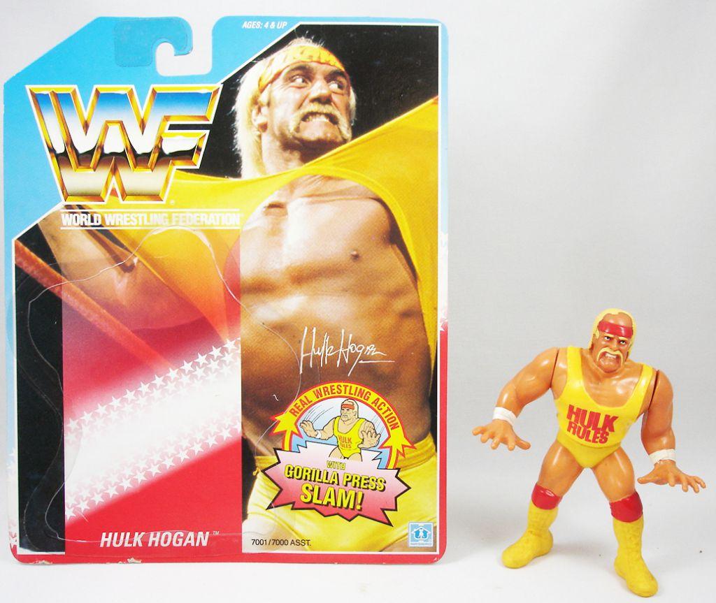 WWF Hasbro - Hulk Hogan v.1 (loose avec carte USA)