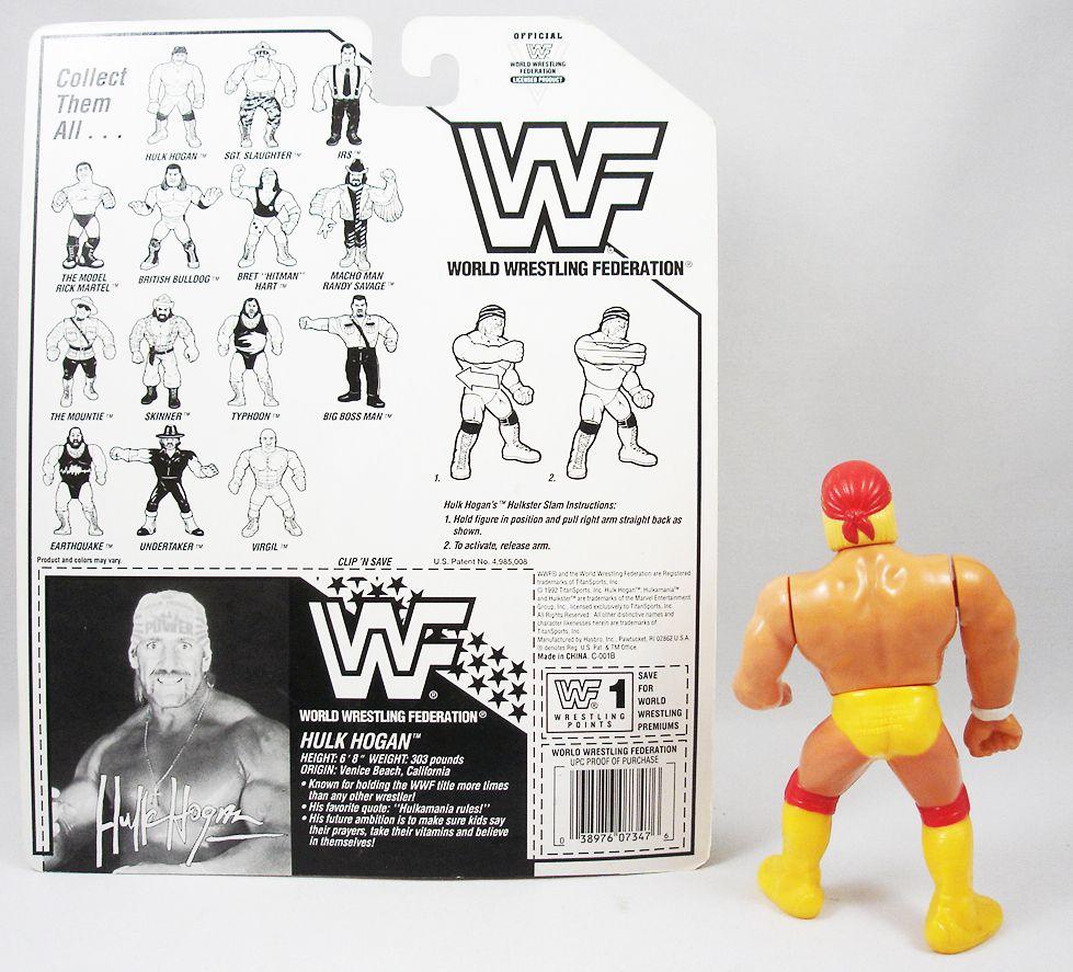 WWF Hasbro - Hulk Hogan v.4 (loose avec carte USA)