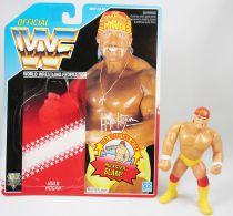 WWF Hasbro - Hulk Hogan v.4 (loose with USA cardback)