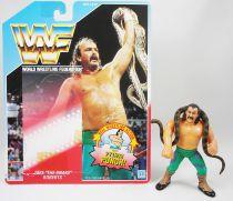 WWF Hasbro - Jake The Snake Roberts (loose avec carte USA)