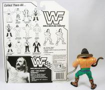 WWF Hasbro - Jake The Snake Roberts (loose with USA cardback)