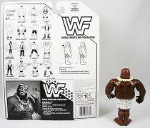 WWF Hasbro - Kamala (loose with USA cardback)