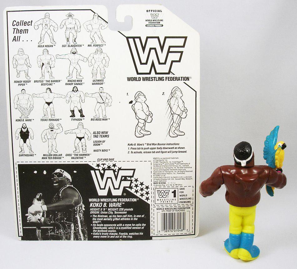 WWF Hasbro - Koko B. Ware (loose avec carte USA)