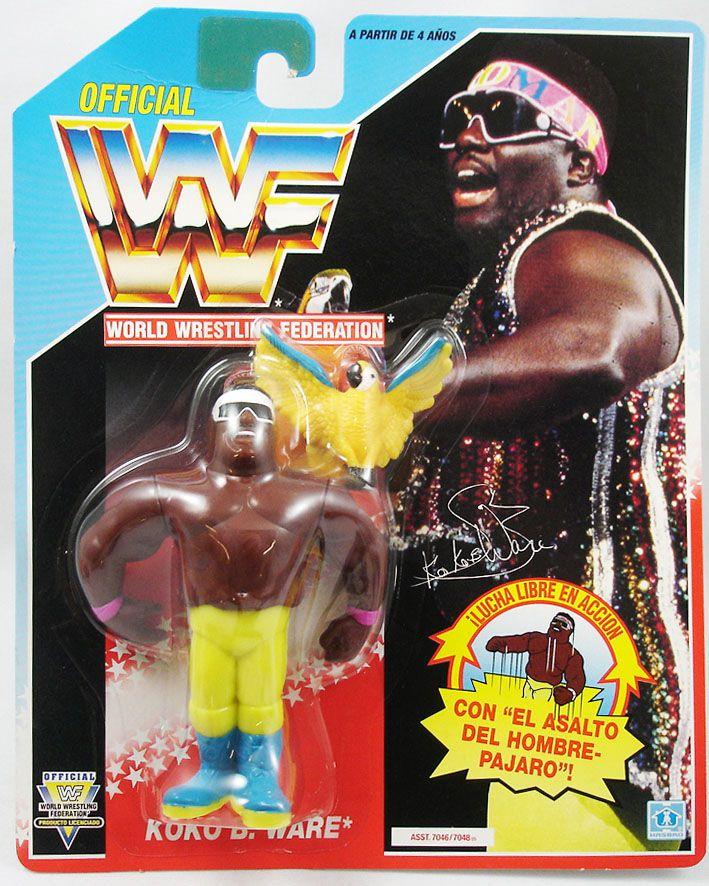 WWF Hasbro - Koko B. Ware (Spain card)