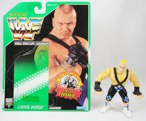 WWF Hasbro - Ludvig Borga (loose with USA cardback)