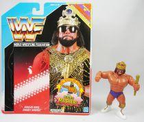 WWF Hasbro - Macho King Randy Savage v.2 (loose avec carte USA)