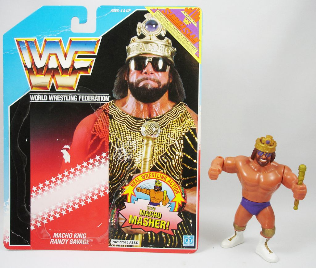 WWF Hasbro - Macho King Randy Savage v.2 (loose with USA cardback)