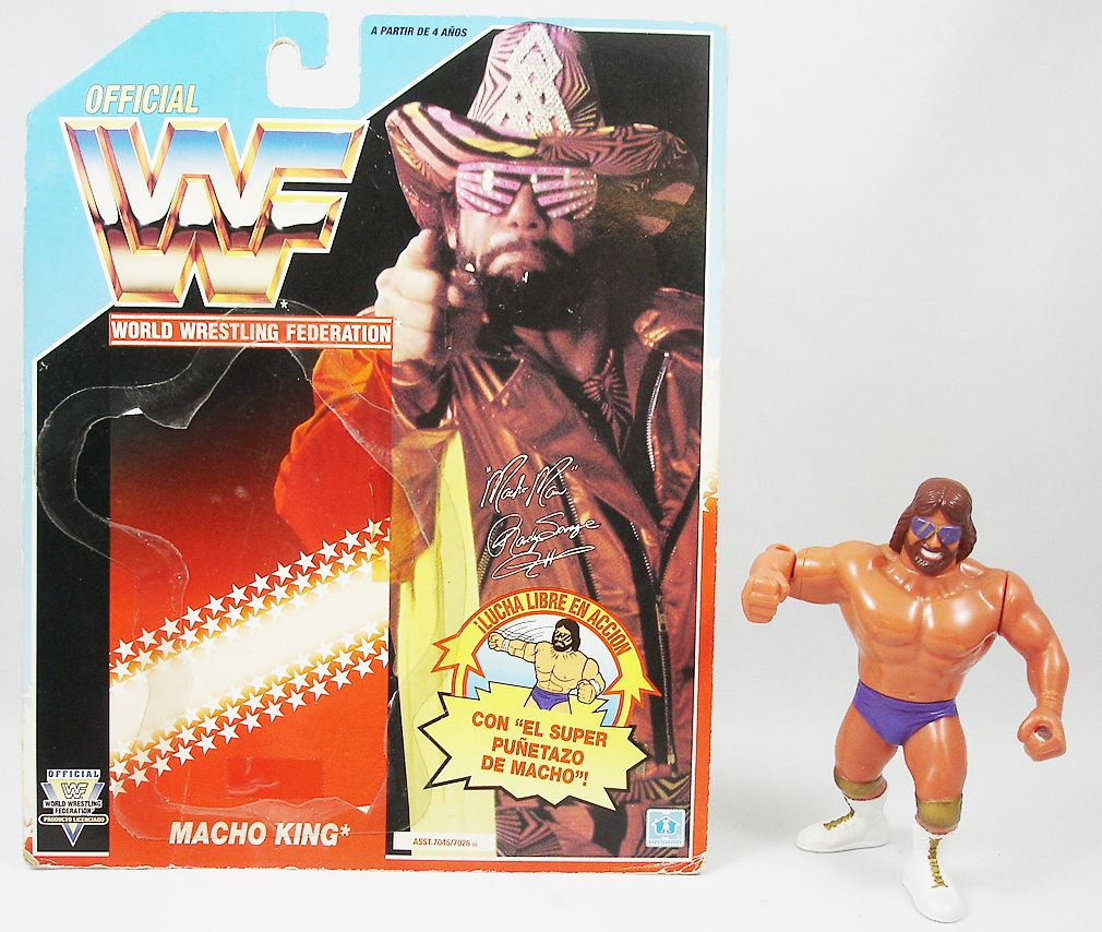 Hasbro WWF Vintage Great condition Figure Macho King Randy Savage