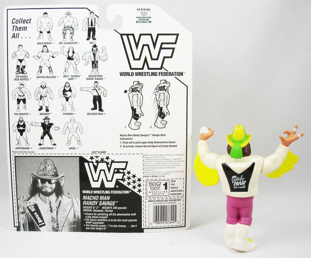 WWF Hasbro - Macho Man Randy Savage v.4 (loose avec carte USA)