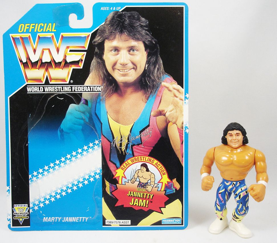 WWF Hasbro - Marty Jannetty (loose avec carte USA)