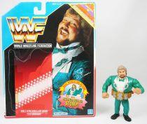 WWF Hasbro - Million Dollar Man Ted DiBiase v.2 (loose avec carte USA)