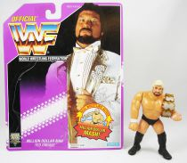 WWF Hasbro - Million Dollar Man Ted DiBiase v.3 (loose avec carte USA)