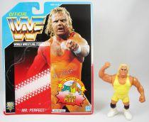 WWF Hasbro - Mr. Perfect v.1 (loose with USA cardback)