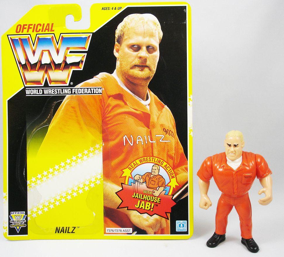 WWF Hasbro - Nailz (loose with USA cardback)