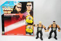 WWF Hasbro - Nasty Boys : Brian Knobbs & Jerry Saggs (loose with French cardback)