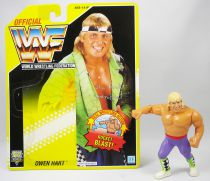 WWF Hasbro - Owen Hart (loose with USA cardback)