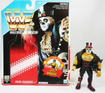 WWF Hasbro - Papa Shango (loose avec carte USA)
