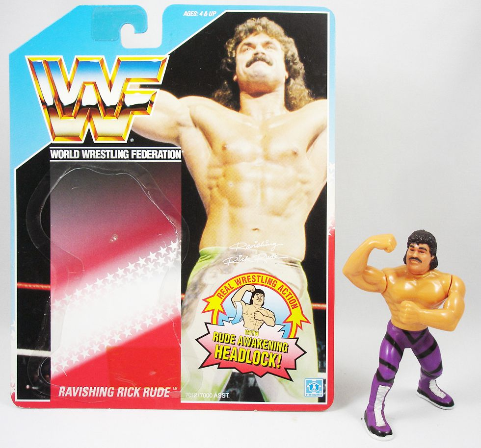 WWF Hasbro - Ravishing Rick Rude (loose avec carte USA)