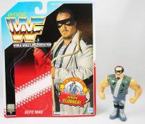 WWF Hasbro - Repo Man (loose with USA cardback)