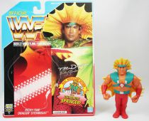 WWF Hasbro - Ricky The Dragon Steamboat (loose with USA cardback)