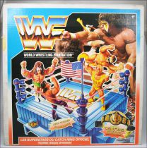 WWF Hasbro - Ring de Catch Officiel (boite FR)