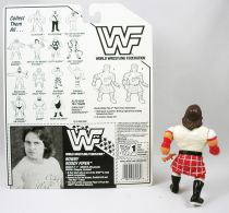 WWF Hasbro - Rowdy Roddy Piper (loose avec carte USA)