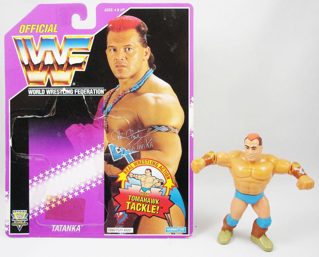 WWF Hasbro - Tatanka (loose avec carte USA)