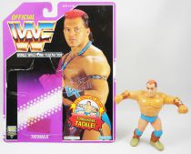 WWF Hasbro - Tatanka (loose with USA cardback)