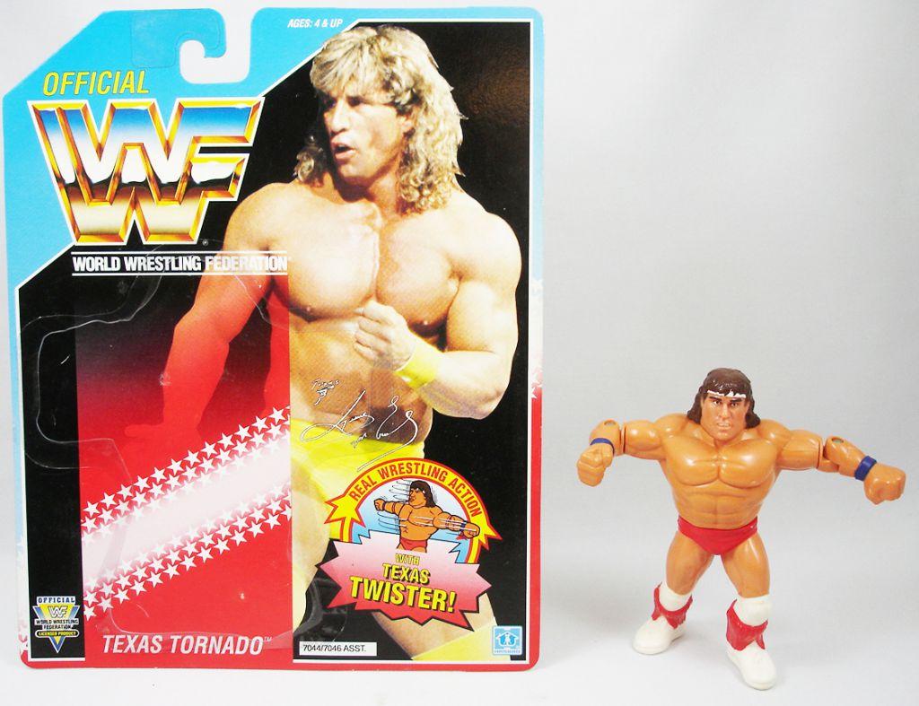 WWF Hasbro - Texas Tornado (loose avec carte USA)