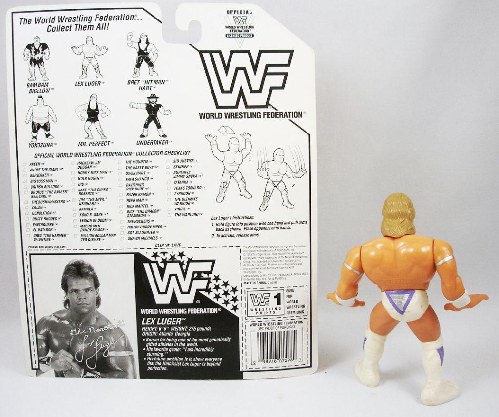 WWF Hasbro - The Narcissist Lex Luger (loose avec carte USA)