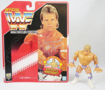 WWF Hasbro - The Narcissist Lex Luger (loose avec carte USA)