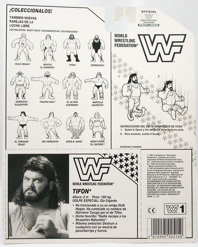 WWF Hasbro - Typhoon (carte Espagne)