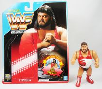 WWF Hasbro - Typhoon (loose with USA cardback)