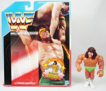 WWF Hasbro - Ultimate Warrior v.1 (loose with USA cardback)