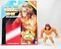 WWF Hasbro - Ultimate Warrior v.2 (loose with USA cardback)